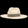 Ninakuru long brim Panama hat with artisanal band. Cotton interior band.