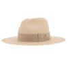 Ninakuru Panama hat with distressed grosgrain band.