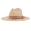 Ninakuru Panama hat with distressed grosgrain ribbon.