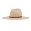 Ninakuru Panama hat with vegan leather band