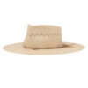 Ninakuru Panama hat with vegan suede band
