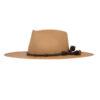 Ninakuru Panama hat with leather and horsehair band.