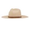 Ninakuru Panama hat with hand stitched leather band.