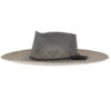Ninakuru Panama hat with vegan suede band.
