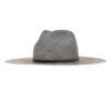 Ninakuru Panama hat with suede band and rivet.